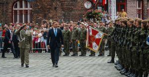 [FOTO] Wyjątkowa przysięga śląskich Terytorialsów z udziałem Prezydenta