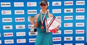 Laura Duhl zdobywa 3 medale Mistrzostw Polski Juniorów!