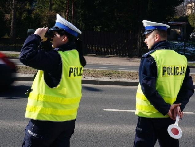 kontrola drogowa, policja