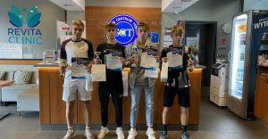Garść medali dla Pszczyny w Mistrzostwach Śląska Juniorów w tenisie!