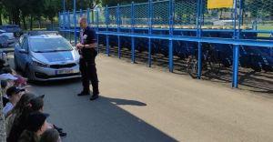 Przedwakacyjne spotkania policjantów z młodzieżą