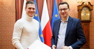 Łukasz Piszczek był gościem premiera Mateusza Morawieckiego