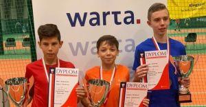 Mistrzostwa Polski Młodzików w tenisie zakończone!