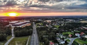 Foto-dnia: zachód słońca nad Czechowicami-Dziedzicami