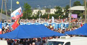 Tysiące pielgrzymów bawiły się pod Dębowcem - zdjęcia