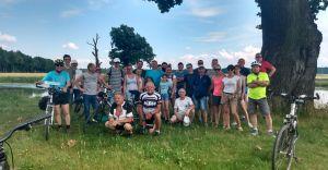 """43 cyklistów wyruszyło w trasę wokół """"śląskiego morza"""""""