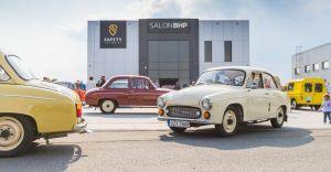 Wystawa zabytkowych samochodów w Czechowicach-Dziedzicach