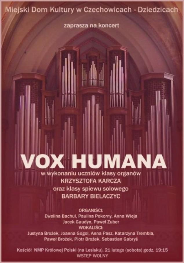 Koncert Vox Humana w kościele NMP