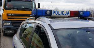"""Ogólnopolskie działania policyjne """"Truck & Bus"""""""