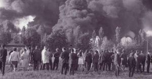 Wystawa oraz projekcja filmu z okazji rocznicy pożaru rafinerii