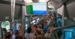 Koleje Śląskie przeprosiły osoby, które nie dojechały na defiladę