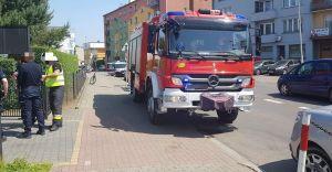Niewybuch przy ulicy Niepodległości, interweniowali strażacy