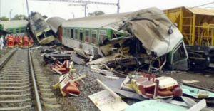 Wypadek pociągu w Czechach