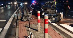 [ZDJĘCIA] 31-letnia kobieta zmarła na skutek wypadku w Goczałkowicach