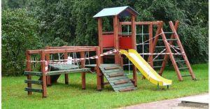 Powstaje plac zabaw przy przedszkolu