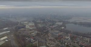 [WIDEO] Przerażający widok na smog nad Czechowicami-Dziedzicami