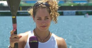 Justyna Iskrzycka na 11. miejscu w swojej konkurencji na IO Tokio 2021