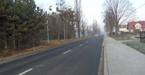 Zakończyła się przebudowa ważnej drogi w powiecie bielskim