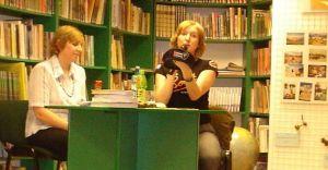 Spotkanie z Radwańską w bibliotece