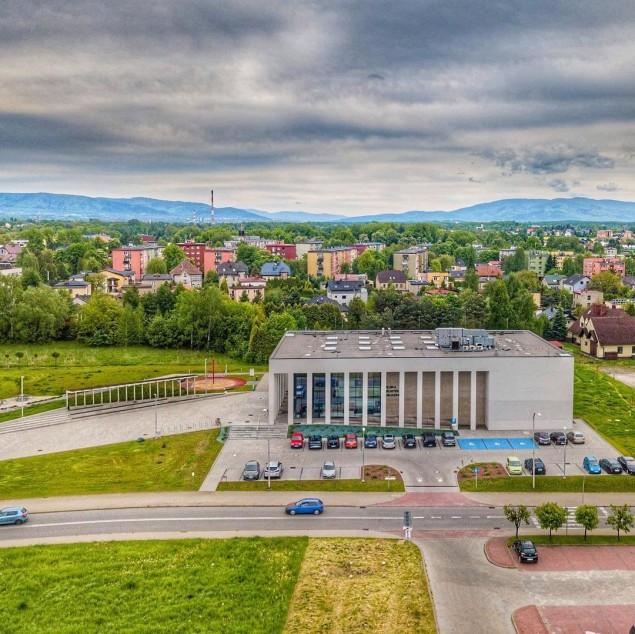 Czechowice,CzechowiceDziedzice,Centrum,Biblioteka,Góry,Beskidy,MBP,LoveCzecho,LoveSilesia,fotodnia