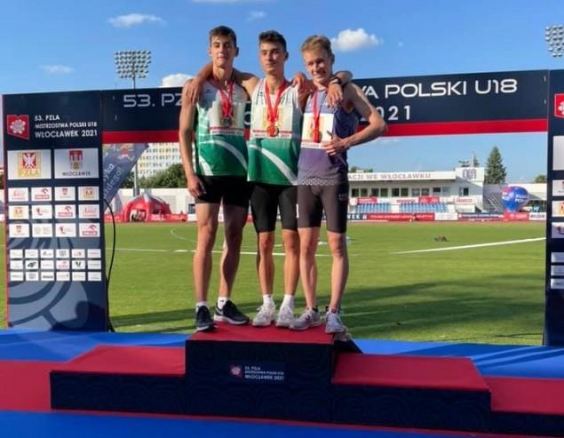 3. miejsce zawodnika MKS na Mistrzostwach Polski U18