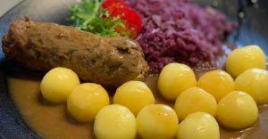 Tradycyjny obiad śląski w Restauracji La Grande w Śląskim Centrum Tenisa
