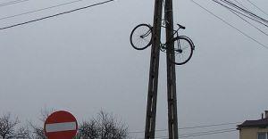 Foto-dnia: na rowerze pod prąd