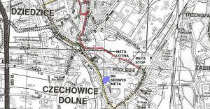 Rajd w centrum Czechowic