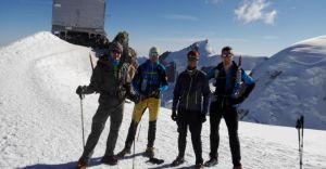 W niespełna 12 h weszli na Mont Blanc. Wyprawę dedykowali Sarze
