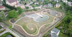 Park przy ul. Królowej Jadwigi już prawie gotowy