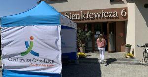 [FOTO] W czechowickim punkcie będzie do 200 szczepień dziennie