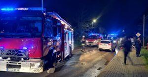 [FOTO] Wypadek na Waryńskiego w Zabrzegu. Dwie osoby ranne!