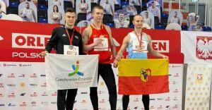 [FOTO] Rafał Pająk wicemistrzem Polski U23 w biegu na 60m!