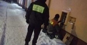 [FOTO] Interwencja SM i ewakuacja mieszkańców po wycieku gazu