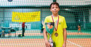 Młody czechowiczanin został Wicemistrzem Europy w tenisie