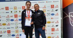 Zawodniczka MKS z brązowym medalem Mistrzostw Polski U16