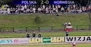 Zobacz gole Rasiaka w meczu z Norwegią na stadionie MOSiR