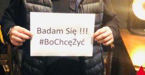 """Stachursky zachęca do badań i bierze udział w akcji """"Bo chcę żyć"""""""