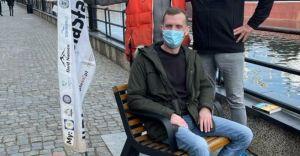 Szymon Machnowski dopłynął do Gdańska po 27 dniach spływu Wisłą!