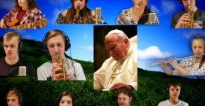Czechowiccy uczniowie nagrali utwór w hołdzie Janowi Pawłowi II