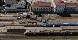 Przebudowa węzła kolejowego Czechowice-Dziedzice na półmetku