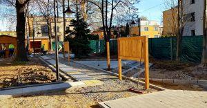 [FOTO] Kończy się budowa ogrodu edukacyjno-sensorycznego przy MDK