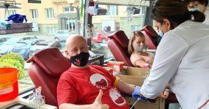 [FOTO] Podczas akcji krwiodawstwa pozyskano 18 litrów krwi