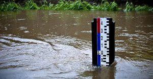 Na rzekach Białej i Wapienicy ogłoszono stan ostrzegawczy