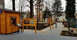 [FOTO] Otwarcie ogrodu edukacyjnego opóźnione przez COVID
