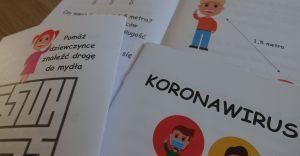 Książeczka z zagadkami o koronawirusie trafiła do przedszkoli