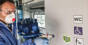 Koleje Śląskie zabezpieczają pociągi powłoką antywirusową