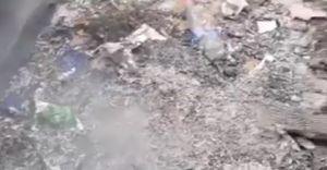 500 złotych mandatu za palenie plastikowych śmieci i gazet