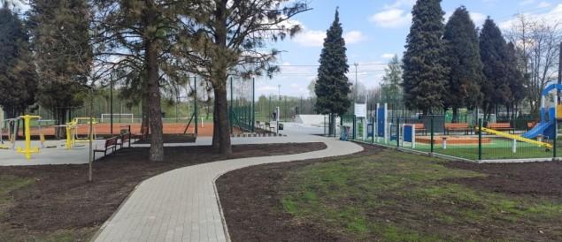 Kaniów wzbogacił się o nowy kompleks rekreacyjny - 30.04.2021