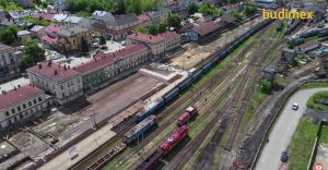 Majowa relacja z przebudowy węzła kolejowego